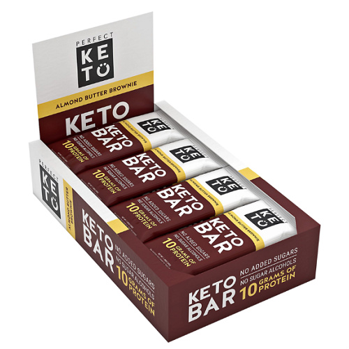 12-CT Box of Perfect Keto Bars : Now $33.15 + Free S/H