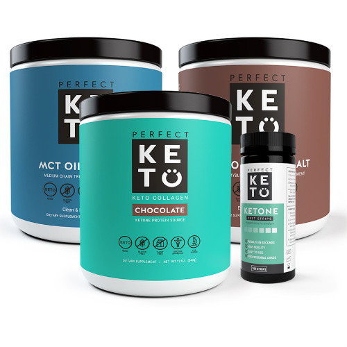 Perfect Keto Starter Bundle : Only $115.99 + Free S/H