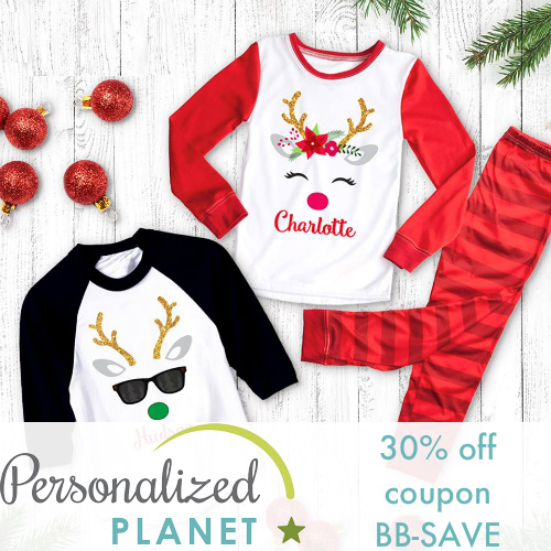 Personalized Planet Coupon : 30% off any order