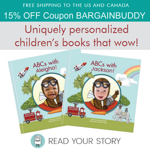 Read Your Story Coupon : 15% off + Free S/H on any order