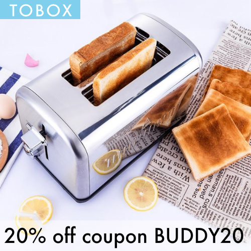 TOBOX Coupon : 20% off any order