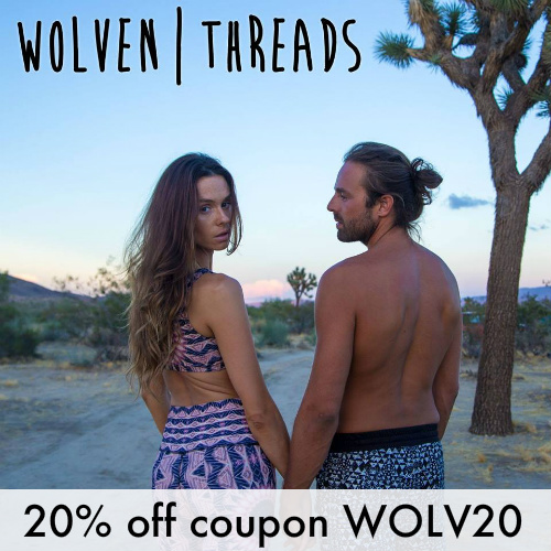 Wolven Threads Coupon : 20% off any order