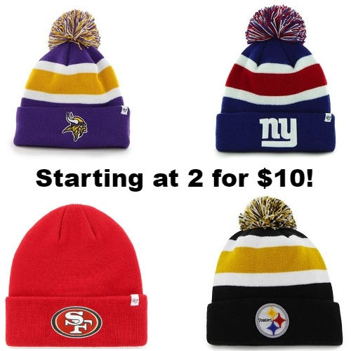 Up to 75% off Officially Licensed Sports Team Beanies   Starting at 2 for   10 fa2f9f42cc4