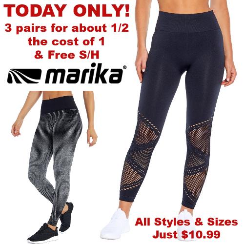 zulily marika leggings sale