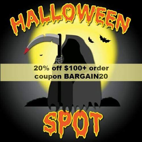 The Halloween Spot Coupon