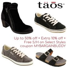Taos Footwear Coupon