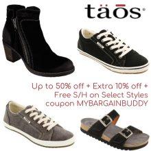 Taos Footwear Coupon