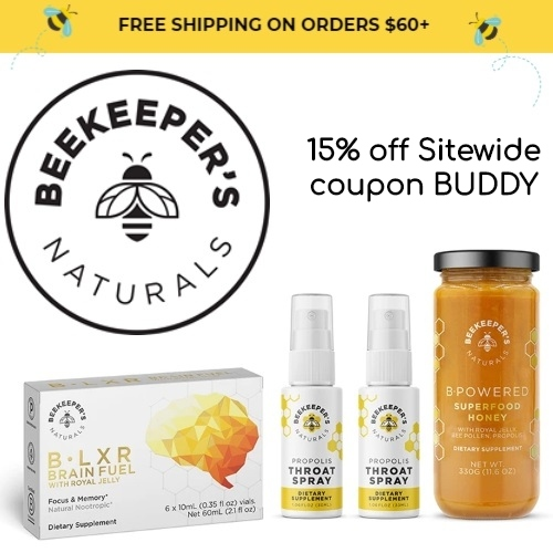 Beekeepers Natural's Coupon