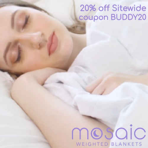 Mosaic Weighted Blankets Coupon