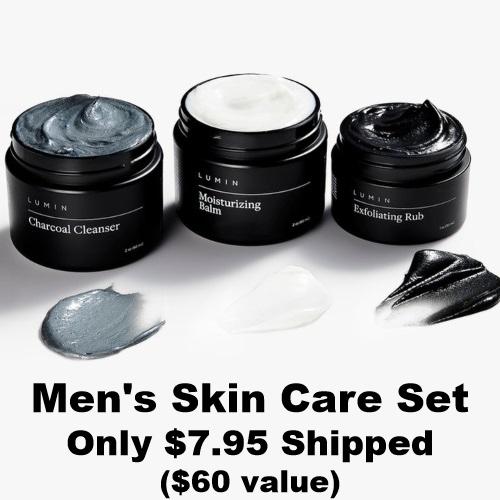 Lumin Skin Care Set for Men