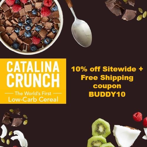 Catalina Crunch Coupon