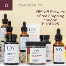 Joy Organics Coupon