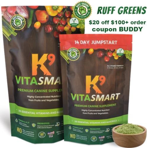 Ruff Greens Coupon