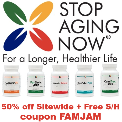 stop aging now coupon