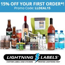 Lightning Labels Coupon