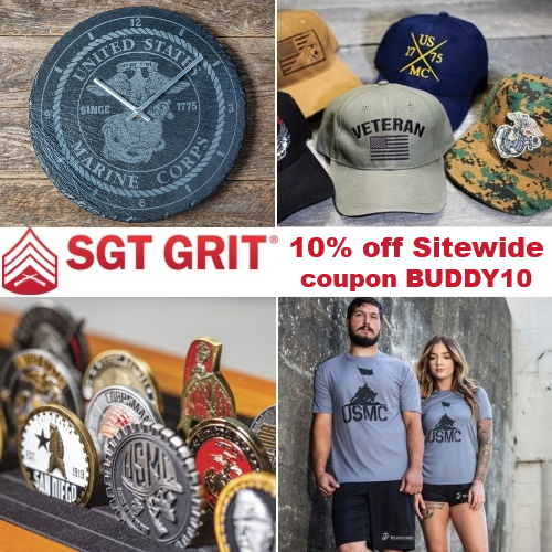 Sgt. Grit Marine Specialties Coupon
