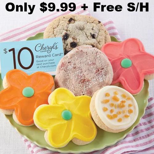 spring cookie sampler