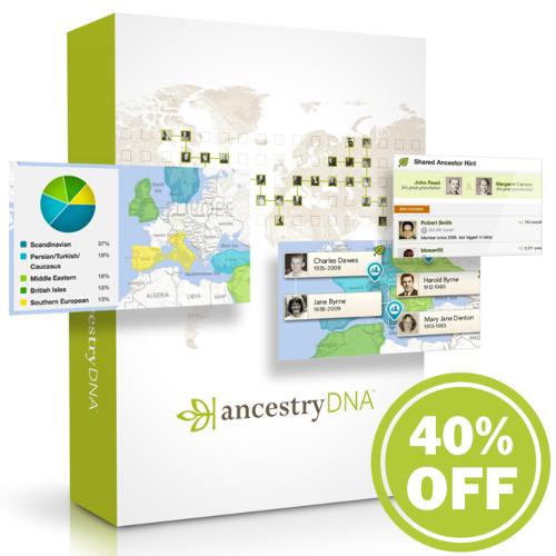 40% off Ancestry DNA Test