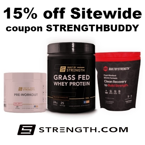 Strength.com Coupon