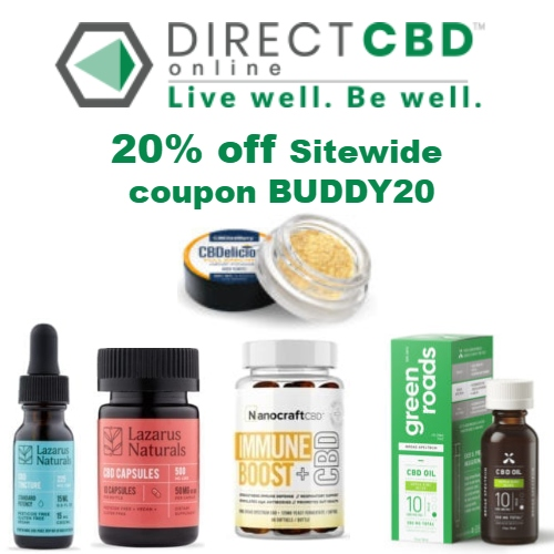Direct CBD Online Coupon