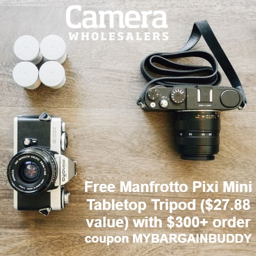 Camera Wholesalers Coupon
