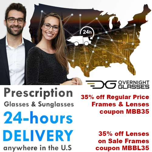 Overnight Glasses Coupon