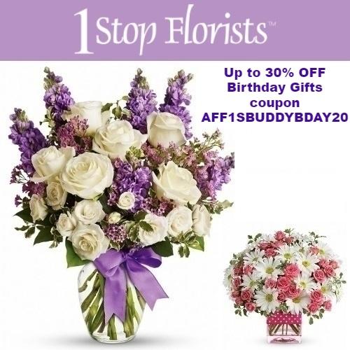 1 Stop Florists Coupon