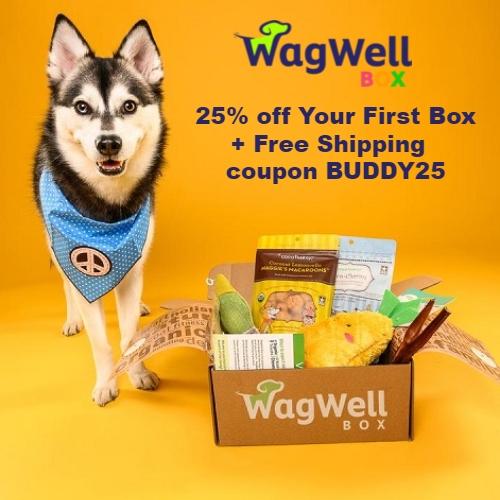 WagWell Box Coupon