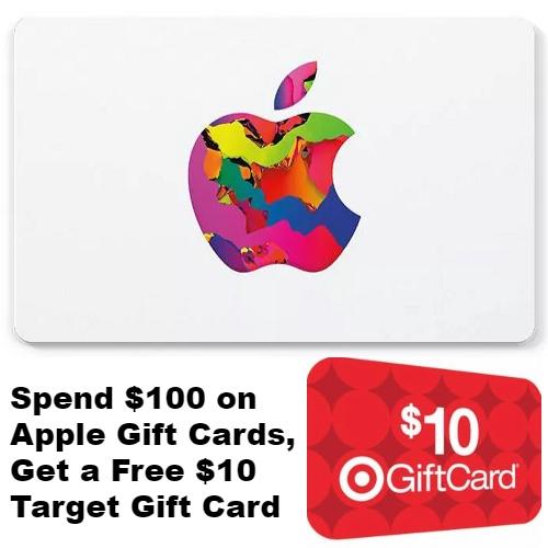 Apple Gift Card Target Promo