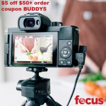 Focus Camera Coupon