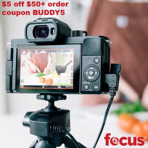 Focus Camera Coupon