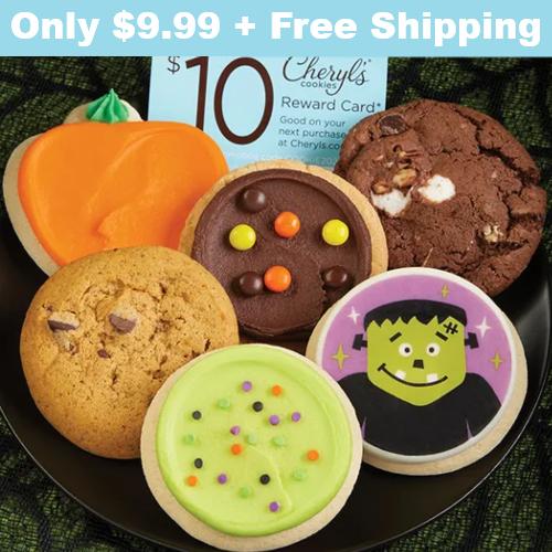 halloween cookie sampler