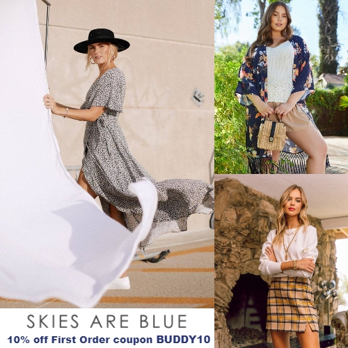 Skies Are Blue Coupon