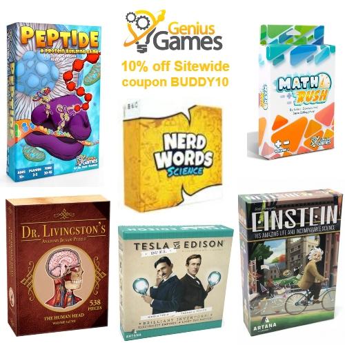 Genius Games Coupon
