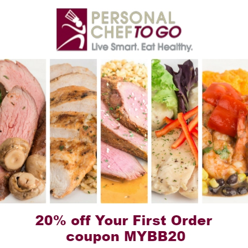 Personal Chef To Go Coupon