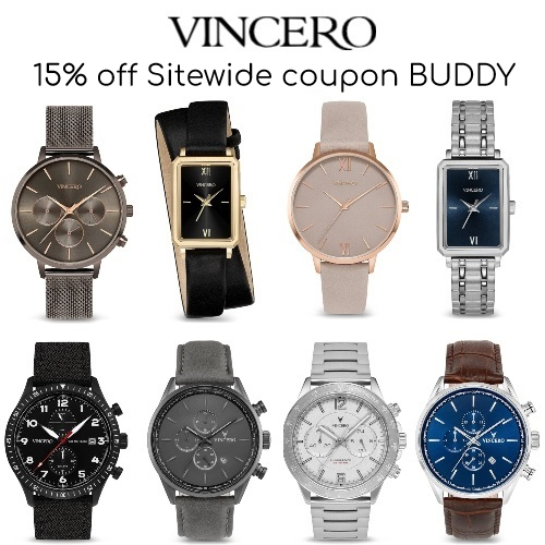 Vincero Watches Coupon
