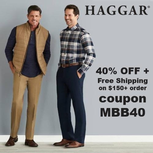 Haggar Coupon