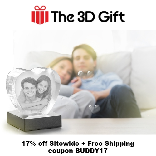 The 3D Gift Coupon
