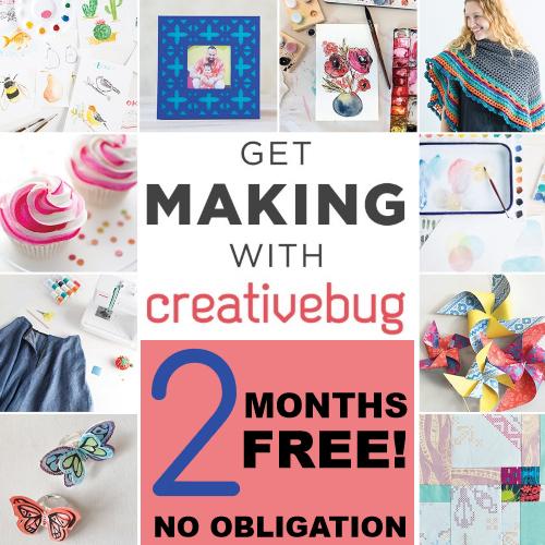 Creativebug Crafting Classes