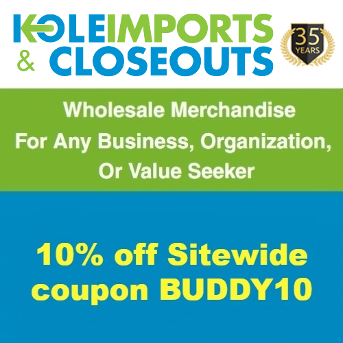Kole Imports & Closeouts Coupon