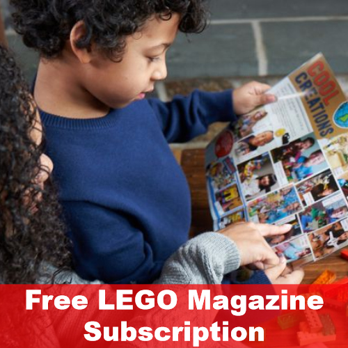 Free Subscription to LEGO