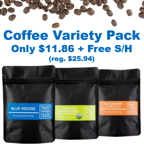 Electric City Roasting Co. Coffee Variety Pack