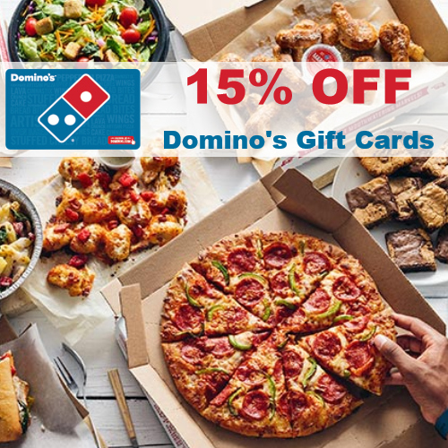 Discounted Dominos Gift Card