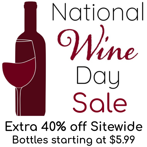 national wine day sale