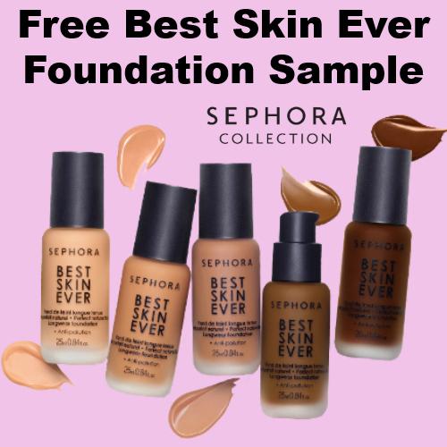 Sephora : Free Best Skin Ever Foundation Sample