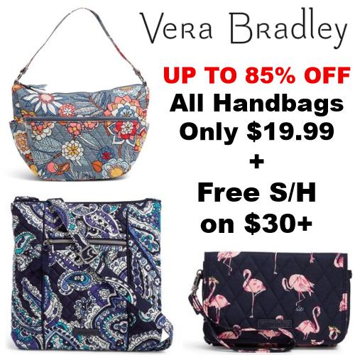 Vera Bradley Handbag Clearance