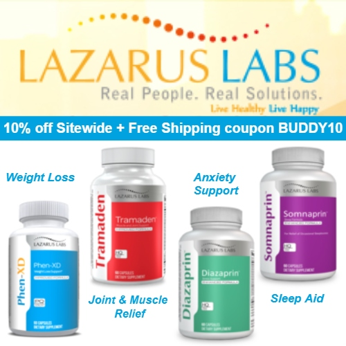 Lazarus Labs Coupon