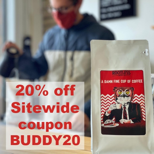 Rootless Coffee Coupon