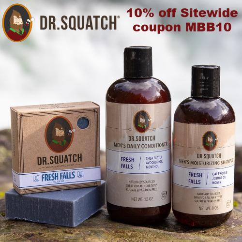 Dr. Squatch Coupon