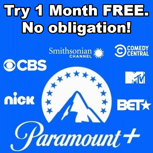 Paramount+ 1 Month Free Trial